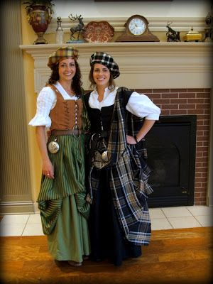 These lovely sisters came up with the best Scottish costumes I've seen; personally I would love to wear this kind of thing as daily wear! :) And the Scottish style fits with my background. Photo by myself- Mazzou's photography Mazzou's Mellifluous Memories: September 2012