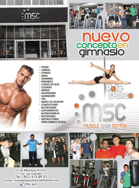 muscle shop center en Zamora promueve una vida sana, ven hazte socio y a moverse