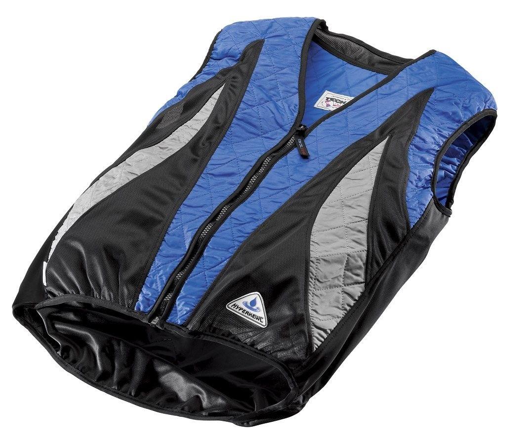 Evaporative Cooling Peak Cycling Vest Blue Silver Black X