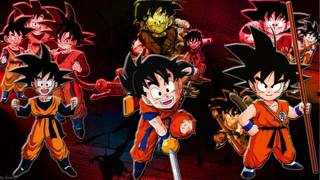 [Exposición] Goku Gohan Goten | Goku and Dragon ball