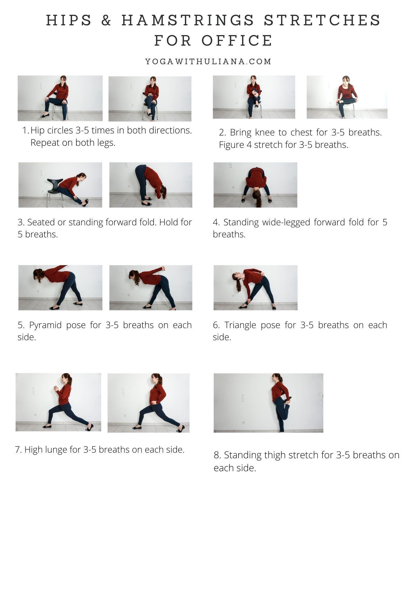 14+ Desk yoga poses pdf inspirations