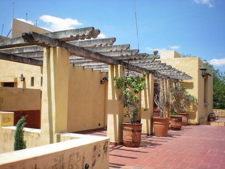 Pérgolas jardines terrazas con estilo muy modernas Terrazas - terrazas en madera