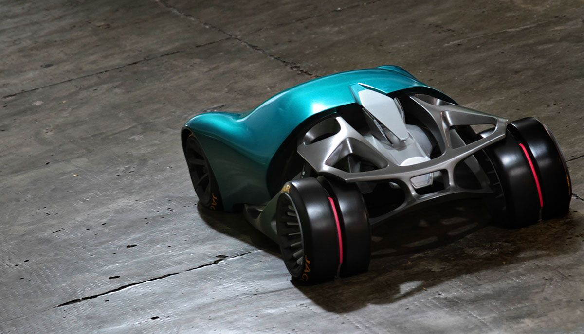 Jaguar Naked Concept - 1/4 Model Photos on Behance
