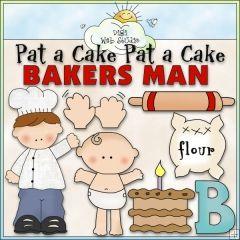 Pat A Cake 1 - NE Cheryl Seslar Clip Art