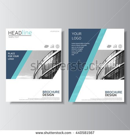 Brochure design, annual report cover Leaflet layout Flyer layout - cover template