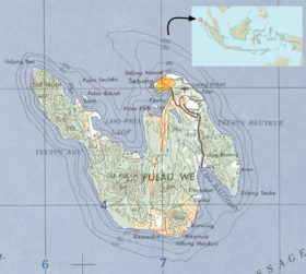Pulau Weh Map Island Map Indonesia