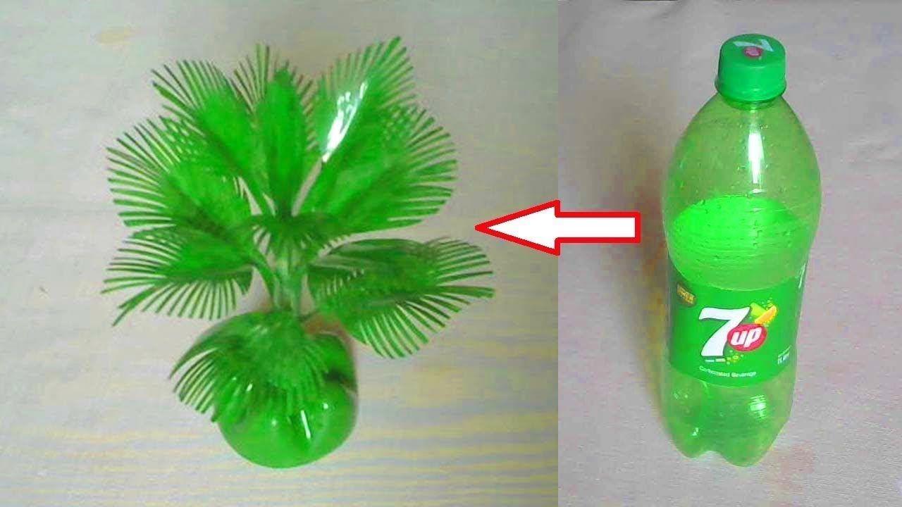Cara Membuat Pohon Hias Dari Botol Plastik Dekorasi Ruangan