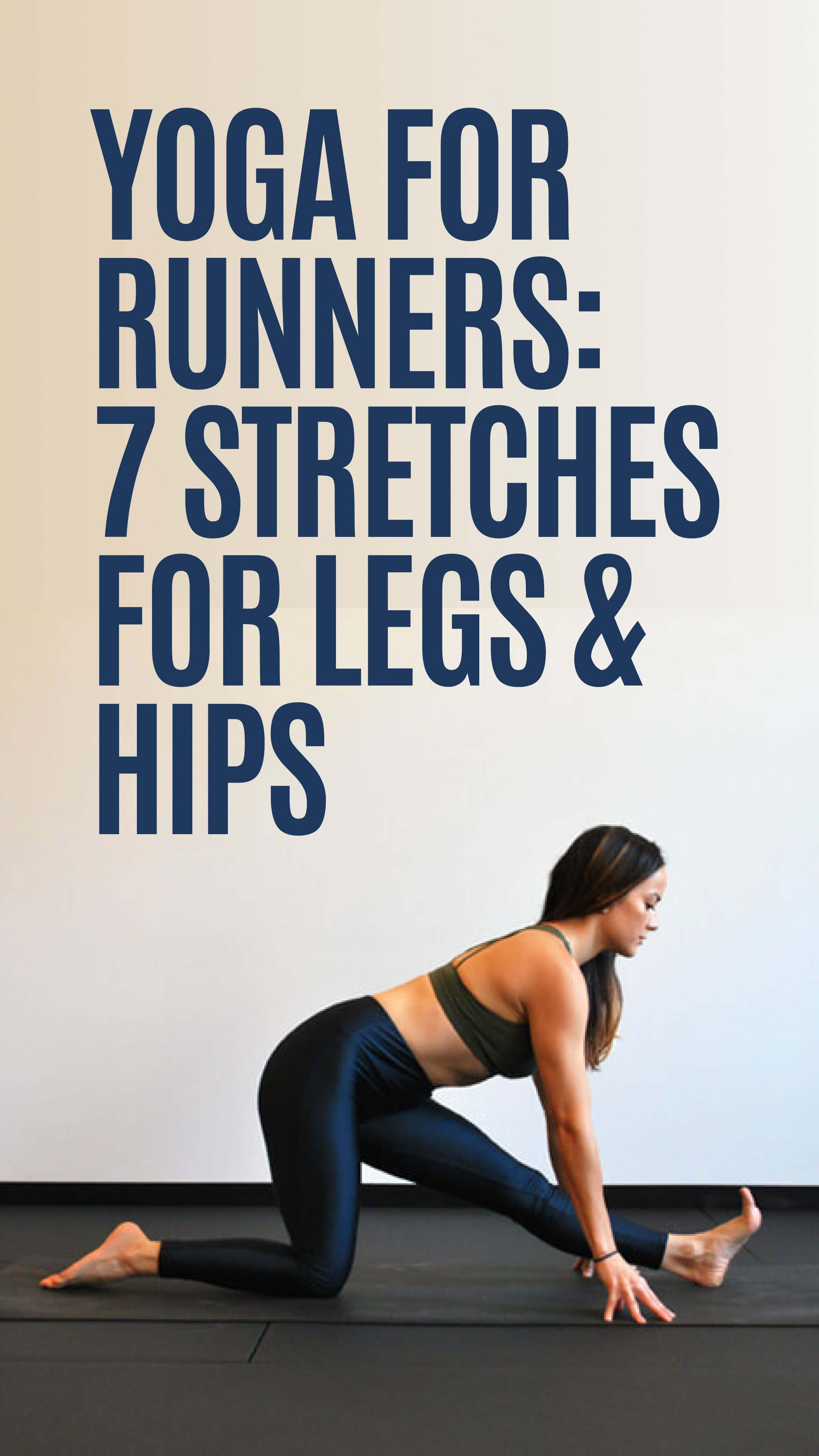 Runners, Practice These 50 Yoga Poses to Release Your Sore Legs and ...