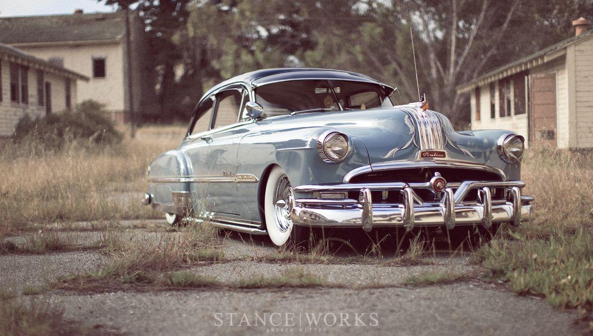 My Kustom Bomb 1951 Pontiac Chieftain Deluxe 2 Door Sedan 1953 Grand Prix Stanceworks X Adams Rotors