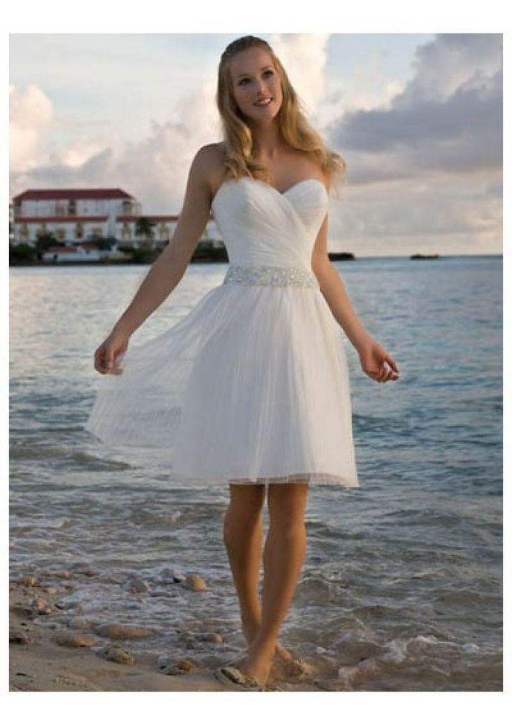 Short Flowy Beach Wedding Dresses   Beach Wedding Dresses ...