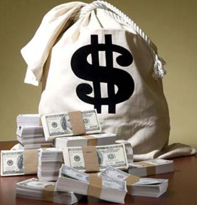 Transparent Money Bag Money Bag Money Stacks Bags
