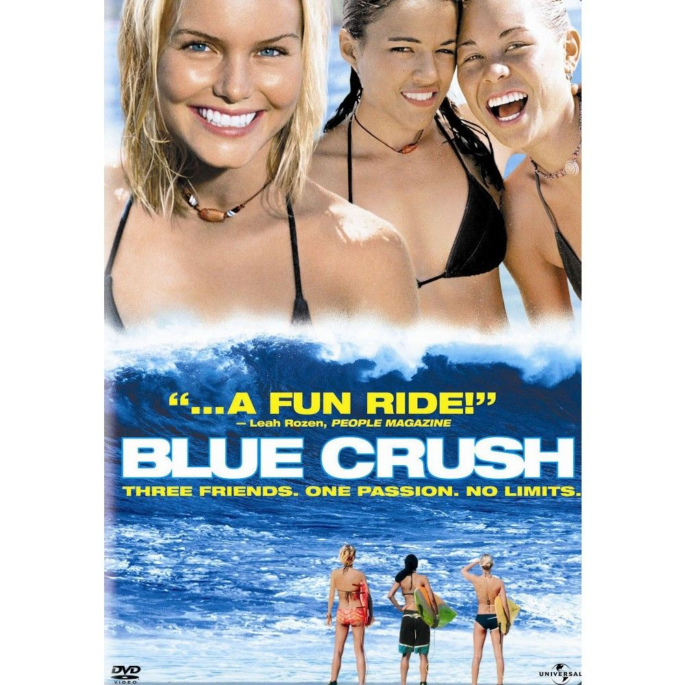 Blue Crush With Pitch Perfect 2 Movie Cash Dvd Video Blue