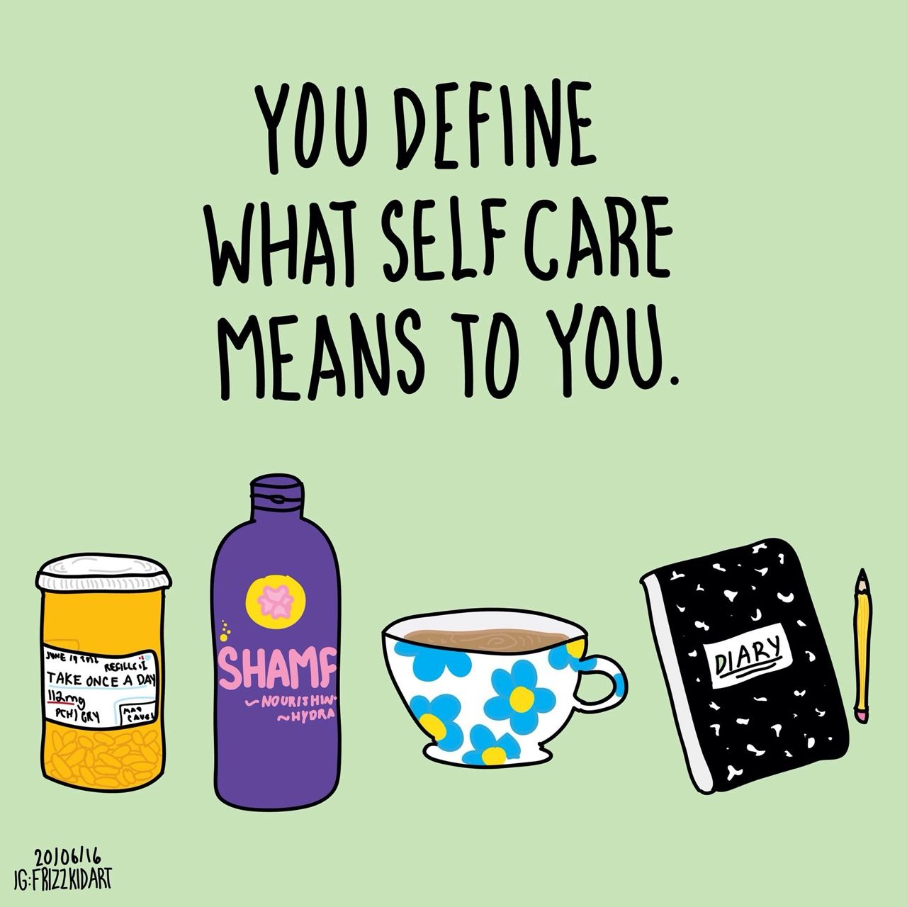 Self love above all: - thefrizzkid: You define what self ...