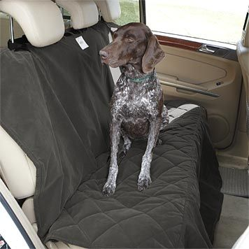 quilted dog back seat protector from orvis for the two terriers to keep their cute little claws. Black Bedroom Furniture Sets. Home Design Ideas