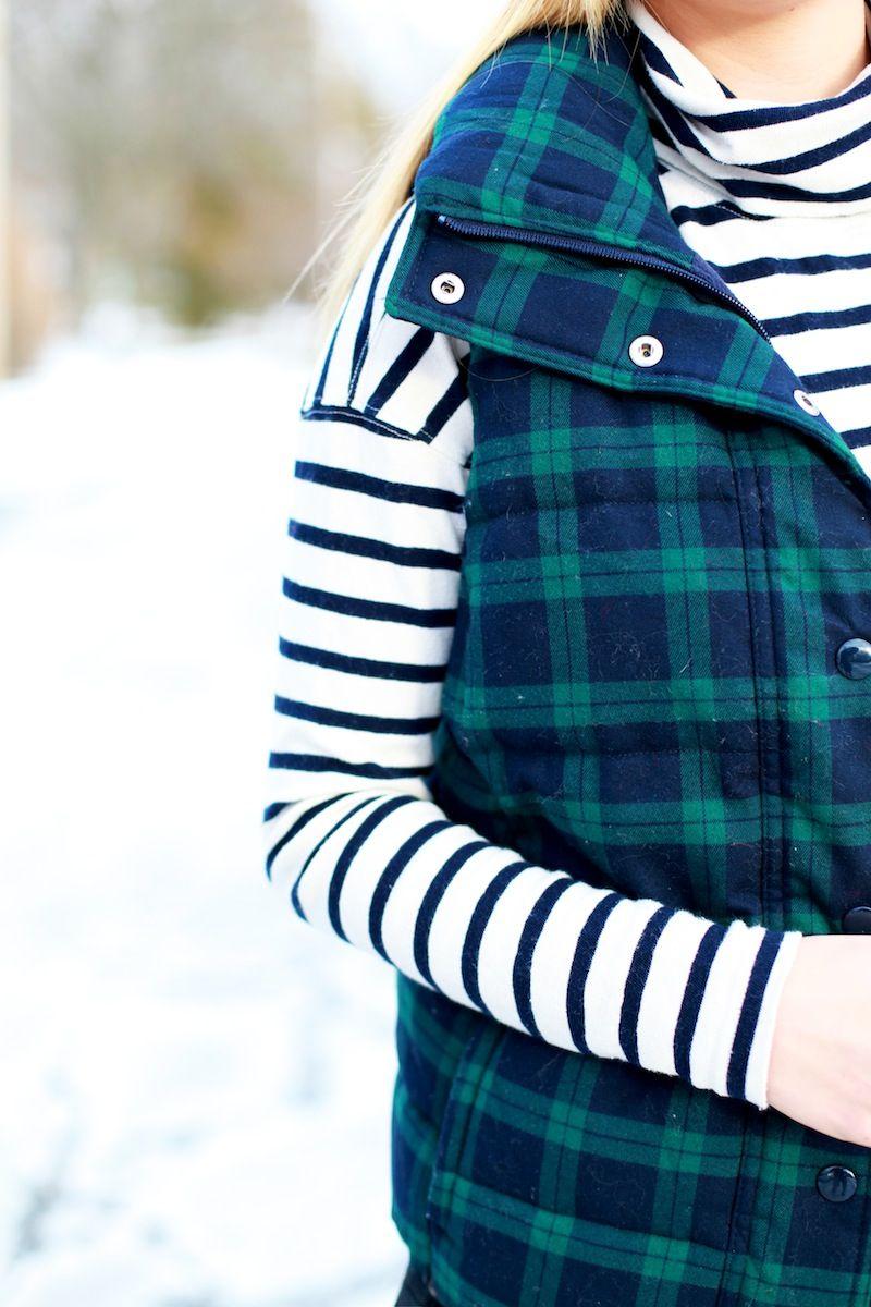Stripes & plaid!