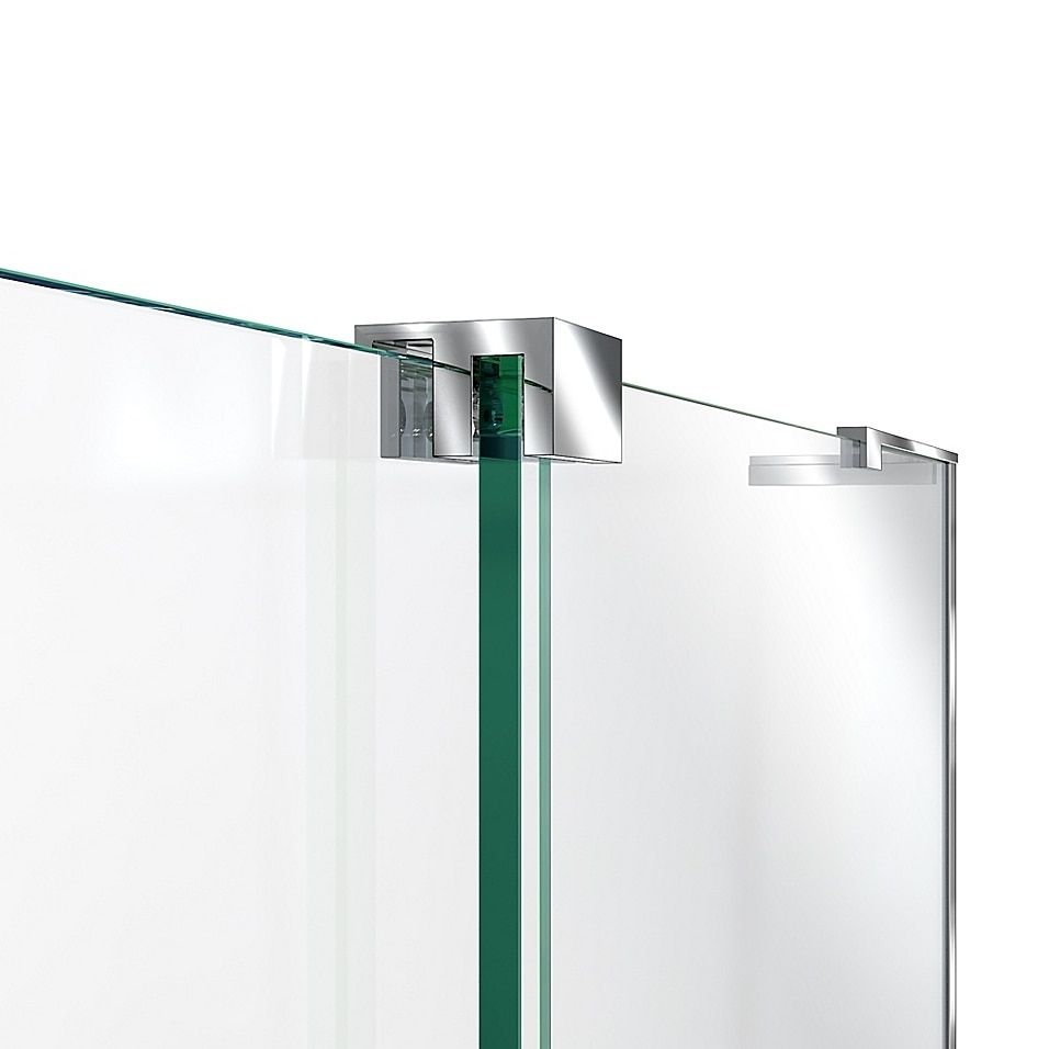Dreamline Mirage-X 56-60 X 72 Right Frameless Sliding Shower Door In Chrome