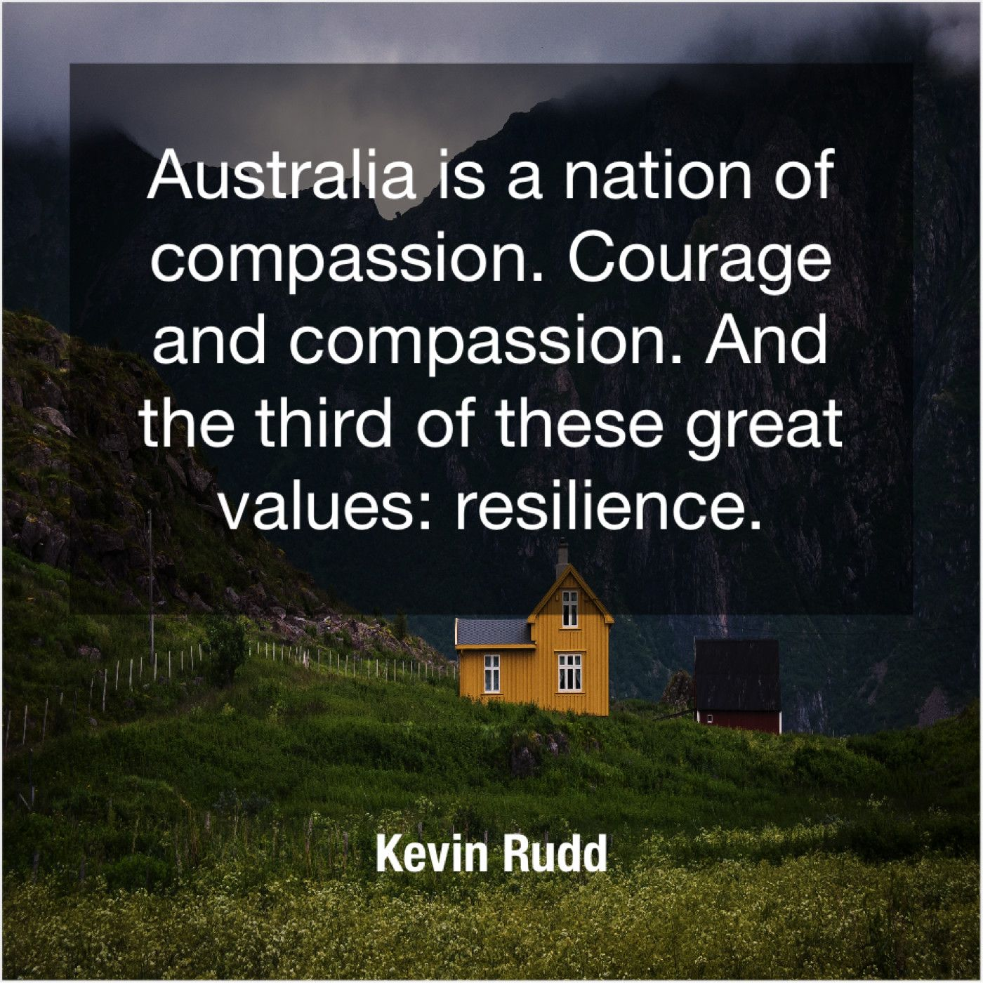 Kevin Rudd Australia Is A Nation Of The Older I Get Viral Quotes Teaching