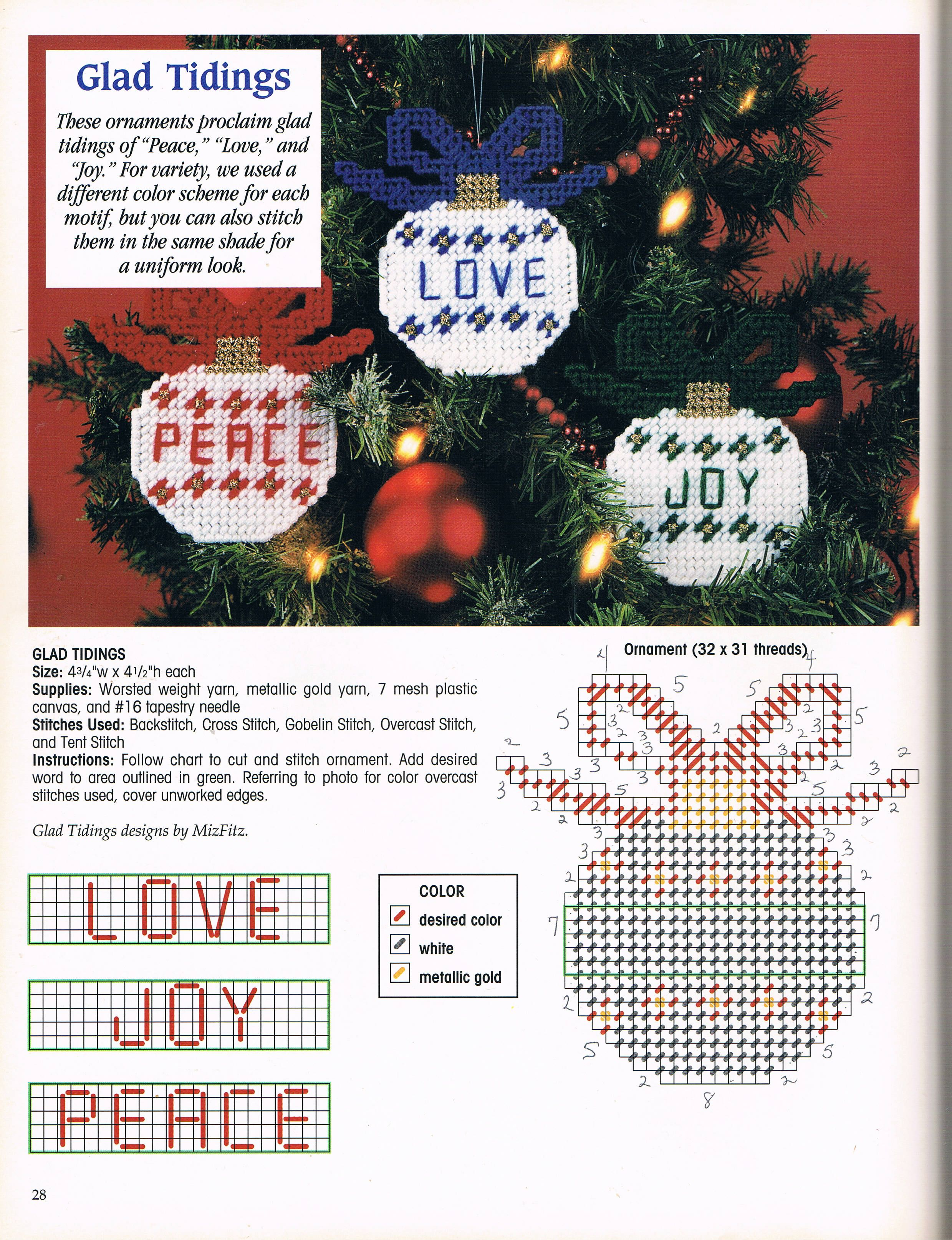 150 Extra Easy Ornaments Pg 29 Plastic Canvas Crafts Plastic Canvas Ornaments Plastic Canvas Christmas