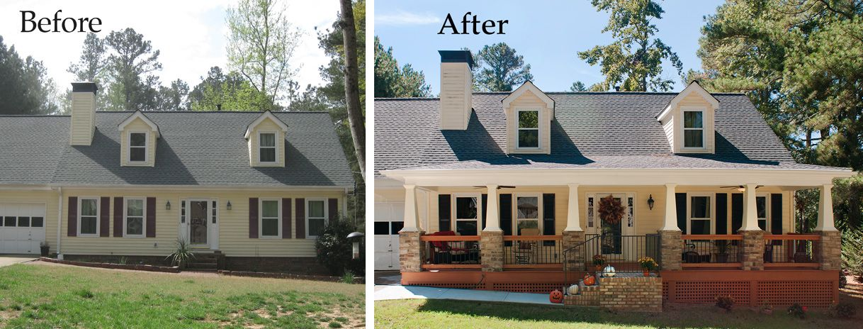 We Were Given The Opportunity To Transform A Pretty Cape Cod Home