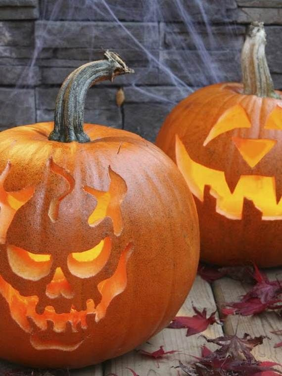 cool easy pumpkin carving ideas _24 - Cool Halloween Pumpkin Designs