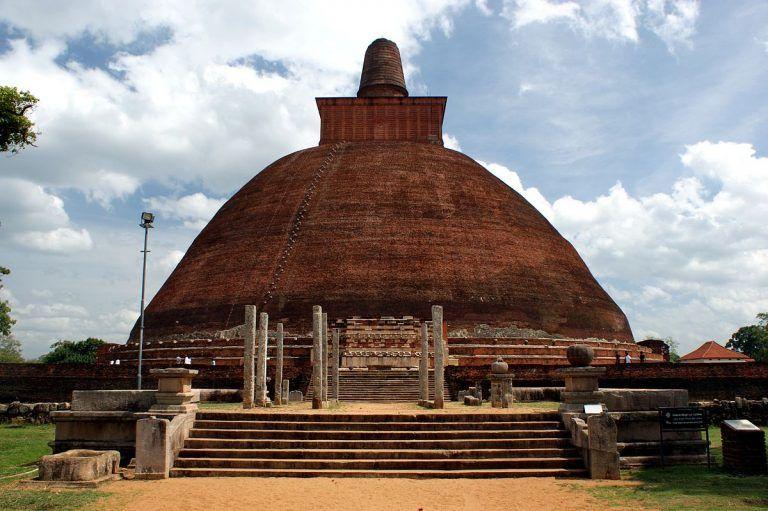 The Magnificent Jetavanaramaya Stupa & the Power of Repentance Sri Lanka