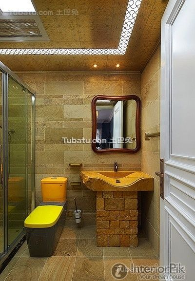 Wind Palace Chinese Bathroom Design 2016