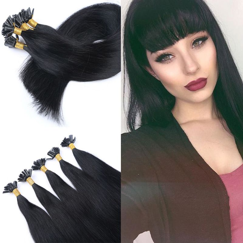 Brazilian virgin hair straight pre bonded hair extension keratin u cheap pre bonded hair extensions buy quality fusion human hair extensions directly from china hair extension suppliers brazilian virgin hair straight pre pmusecretfo Choice Image
