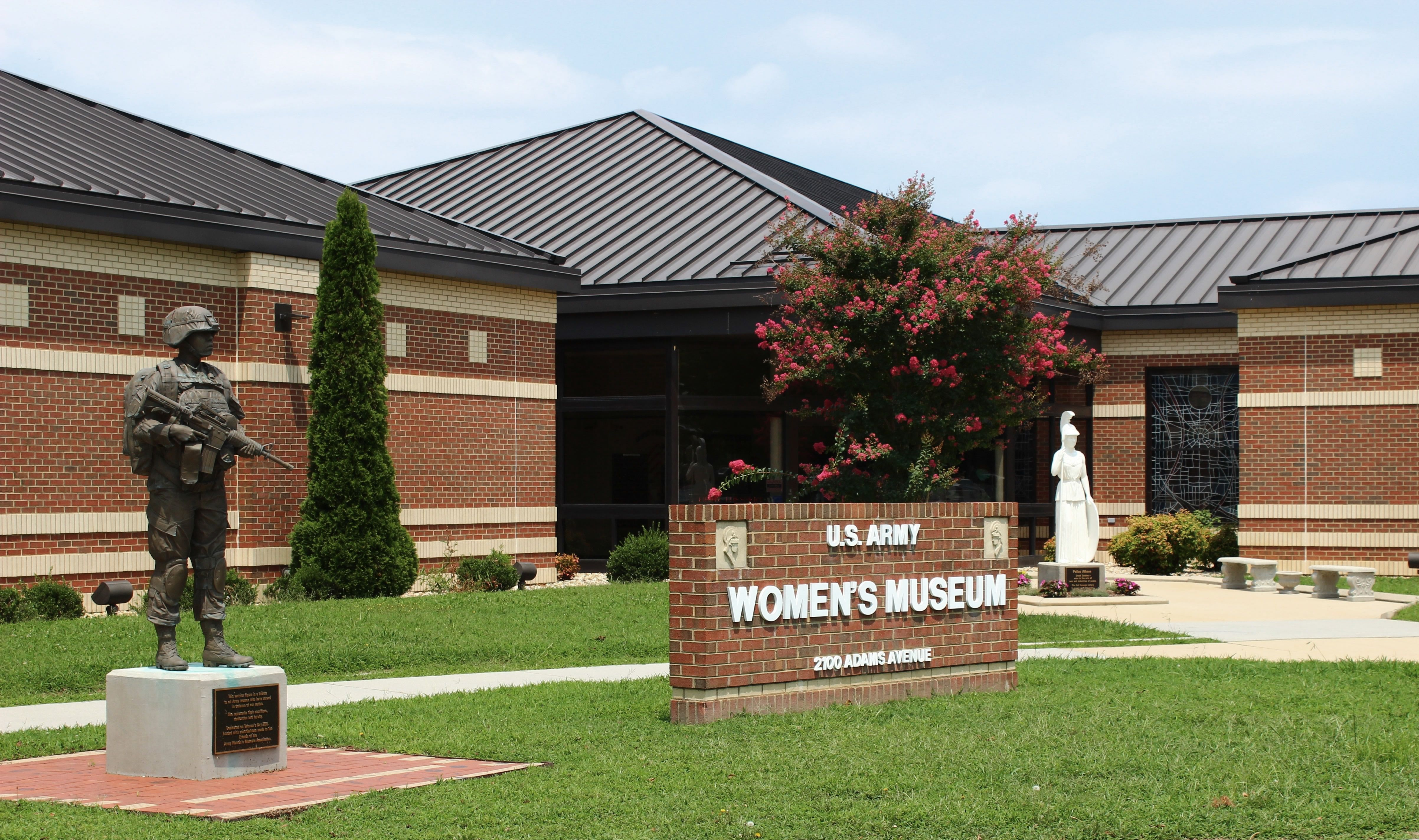 The U.S. Army Women's Museum is the only museum in the