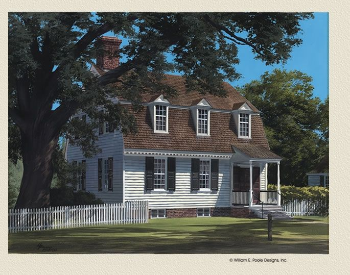 Tayloe House Williamsburg Collection By William Poole