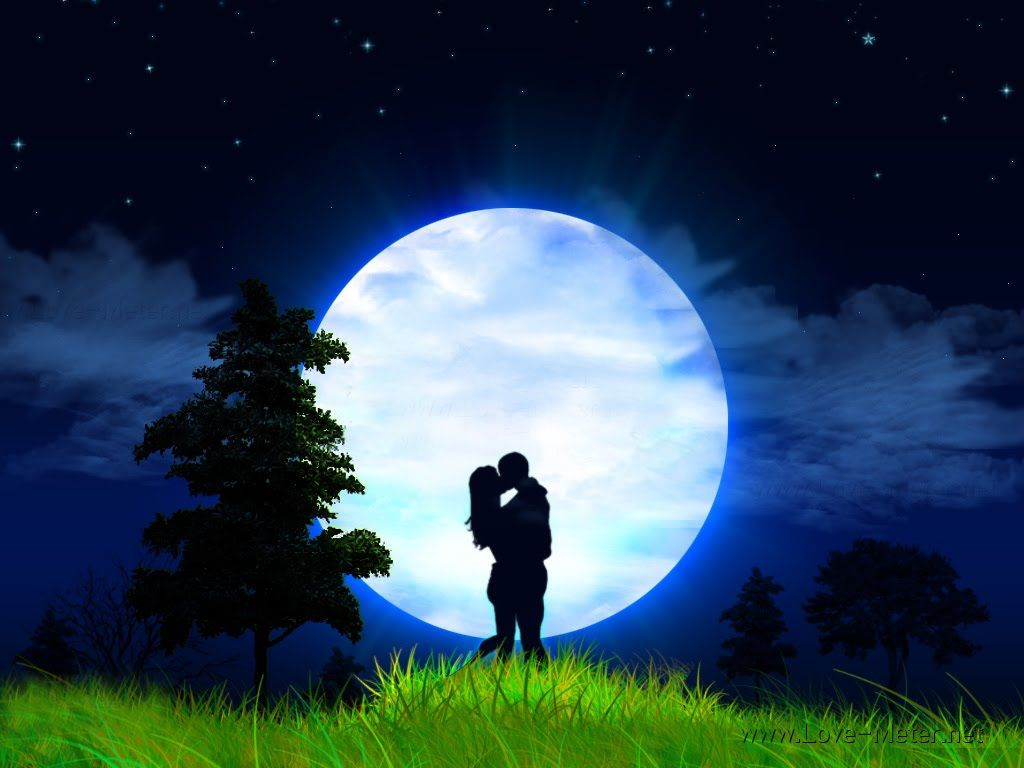 Most Beautiful Full Moon Moonlight Lovers Wallpapers In 2020
