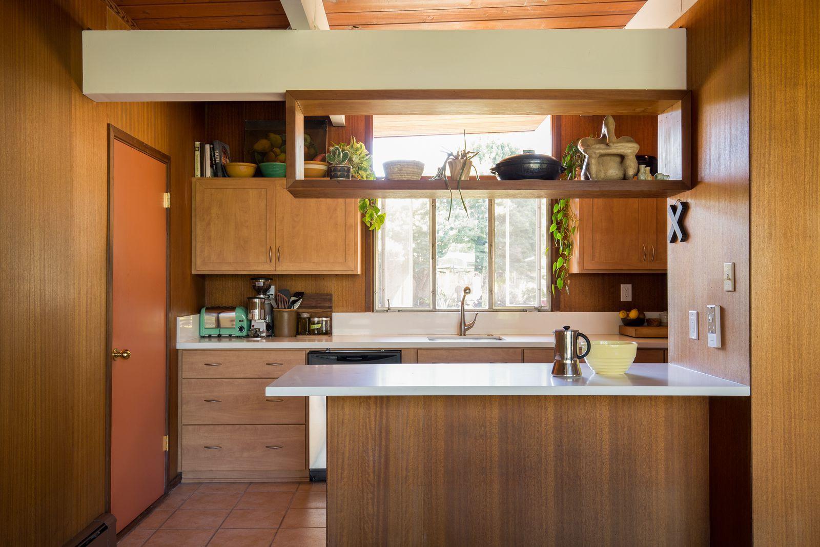 Best Eichler Unedited Mid Century Modern Kitchen Kitchen 400 x 300