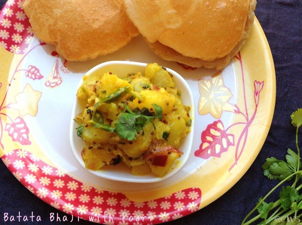 Batata Bhaji with Poori