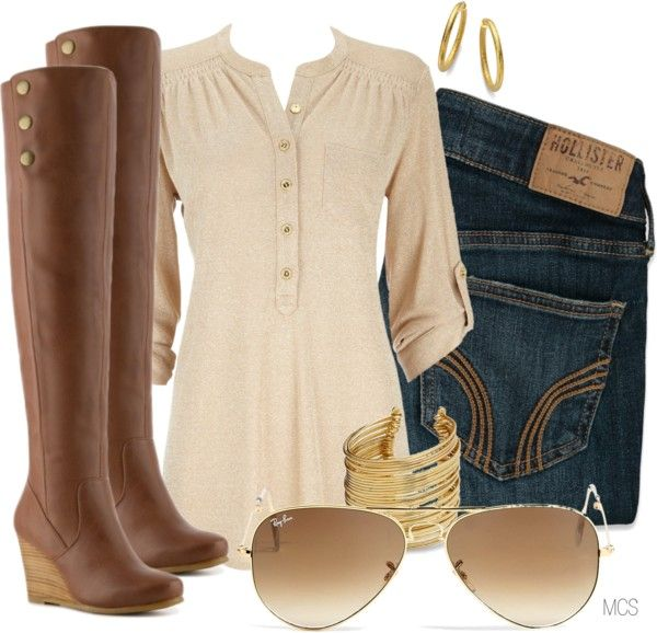 """""""Splurge Ray-Bans"""" by mclaires on Polyvore"""