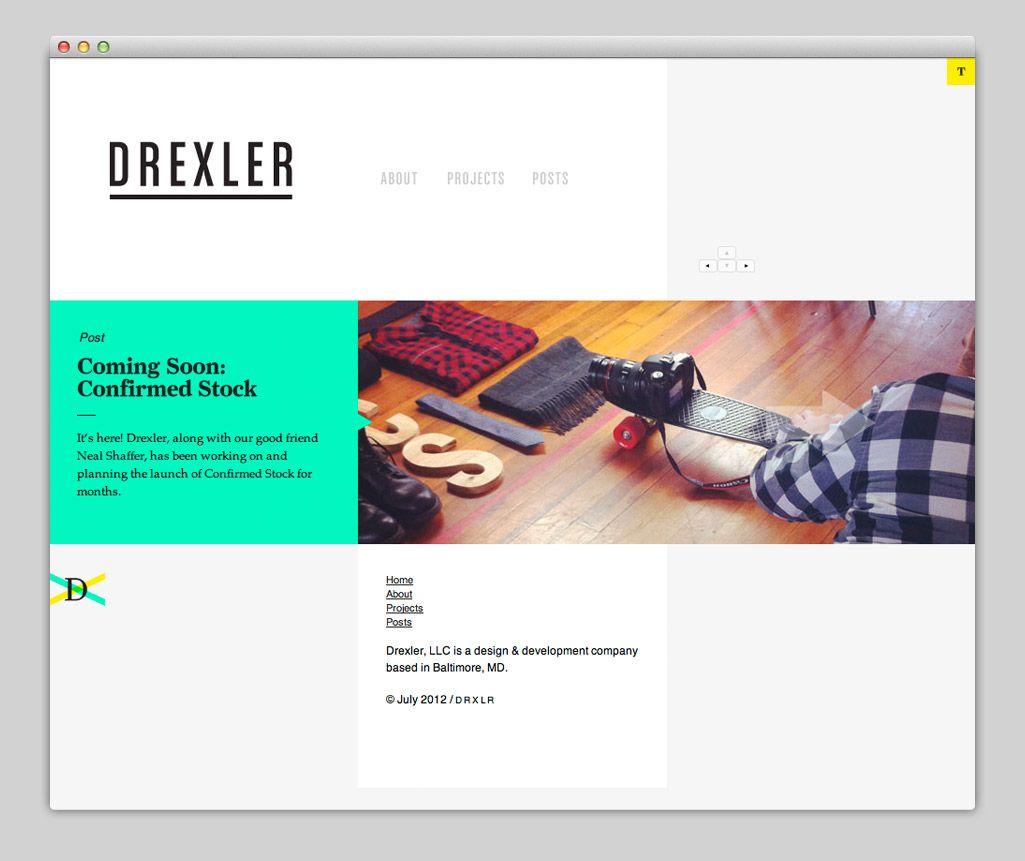 Panoramic Modern Web Design Minimal Web Design Web Design