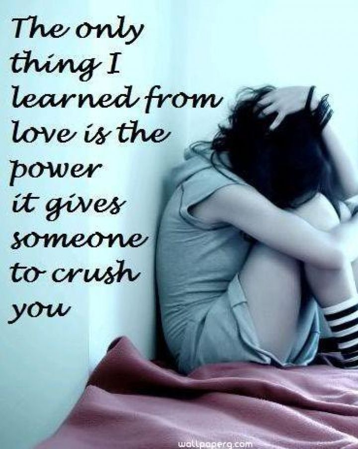 Heart Touching HD Sad Girl Wallpaper For Broken Alone Lost Love Poems