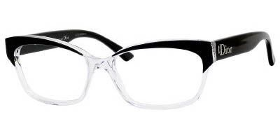 1cd2f83b041 Christian Dior 3197 Eyeglasses 0K4X BLACK CRYSTAL « Impulse Clothes ...