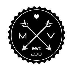 logo wedding hipster arrow monogram mariage monogramme fleche boda