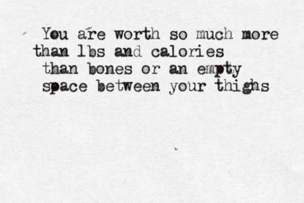 Quotes Anorexia Bulimia Ana Mia Eating Disorders Typewriter Anorexia Gorgeous Anorexia Quotes