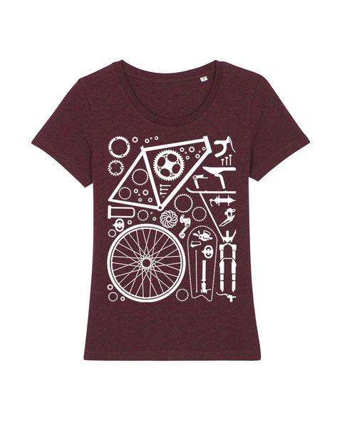 Photo of wat? Apparel Fahrradteile   T-shirt Damen