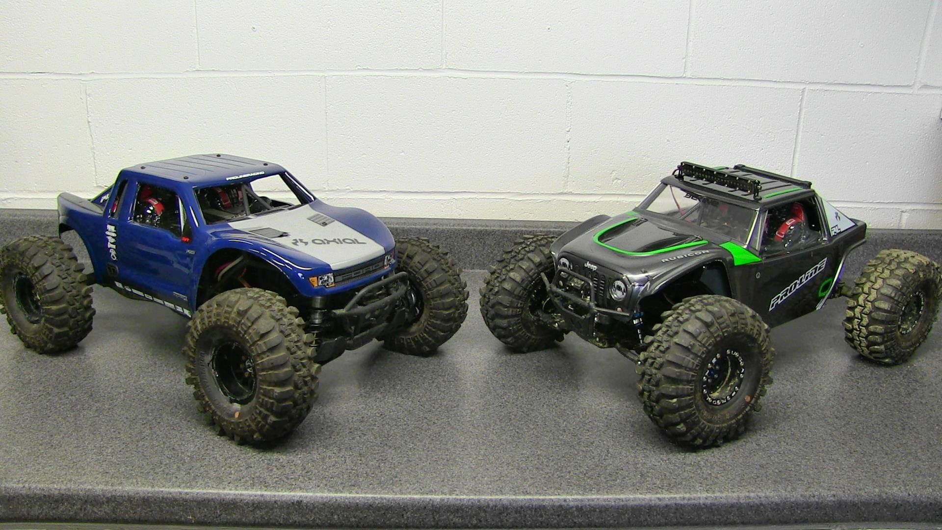 RC Overload - Axial Yeti Bodies From Proline Racing - Ford