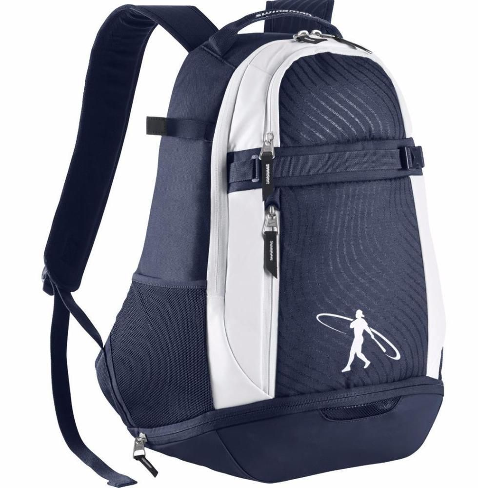 Nike Swingman Ken Griffey Jr. 2.0 Bat Pack Backpack Navy Blue White  BA5206-410  Nike  Backpack e3d9157d42b39