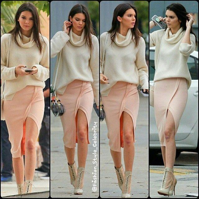 #KendallJenner #kyliejenner #pink #boots #NorthWest #happybirthday #highheels #shorts #cute #bob #fashion #style #celebrity #denim #hollywood #star #lovely #beautiful #Love #shoes #skinnyjeans #kimkardashian #pretty#stylish #lookbook #look #ootd #outfit #heels #shoes... - Celebrity Fashion