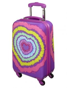 2944dd52c2 ... girls  duffel bags   totes from Justice. Tie Dye Heart Hardshell  Suitcase