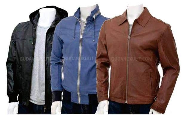 model jaket kulit pria casual  5994727dc8