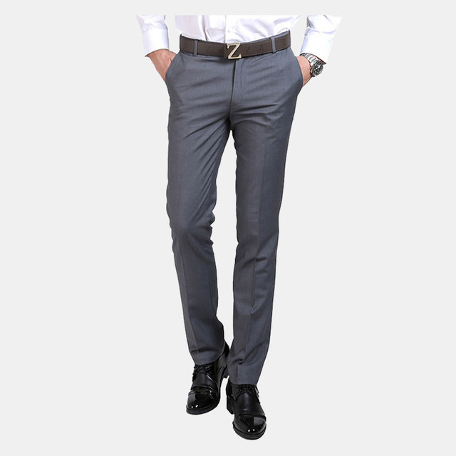 Pantalones De Traje De Lujo Para Hombre Pantalones De Vestir Sociales Pantalones De Pantalones De Vestir Hombre Pantalones De Vestir Pantalones Negros Hombre