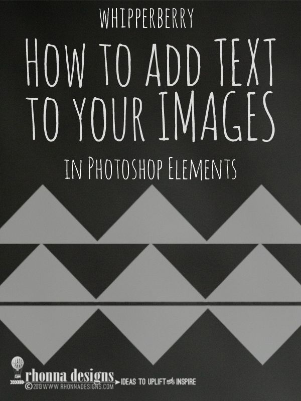 how to add text to photoshop