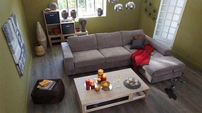 Alinea Angle Canape Petit Espace Meuble Deco Maison Style