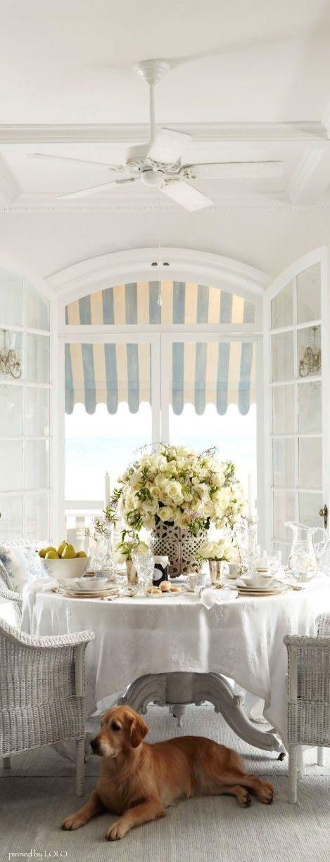 Millionaire beach house ralph lauren southern breakfast room so dreamy ladyluxury white - Ralph lauren casa ...