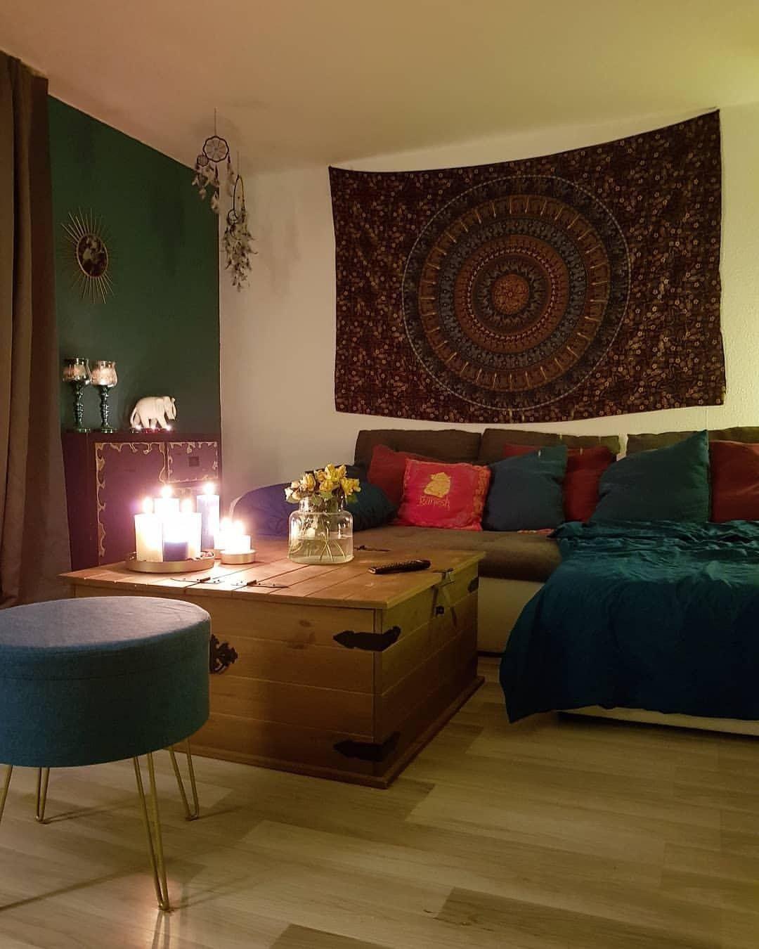 wohnzimmer deko inspiration  minimalistisches und