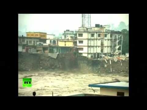 Apocalyptic floods sweep India